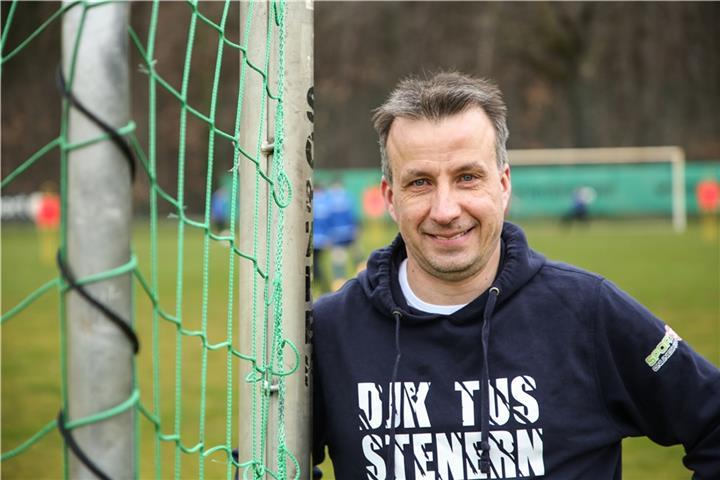 Jörg Hüls' Heimat ist die DJK TuS Stenern