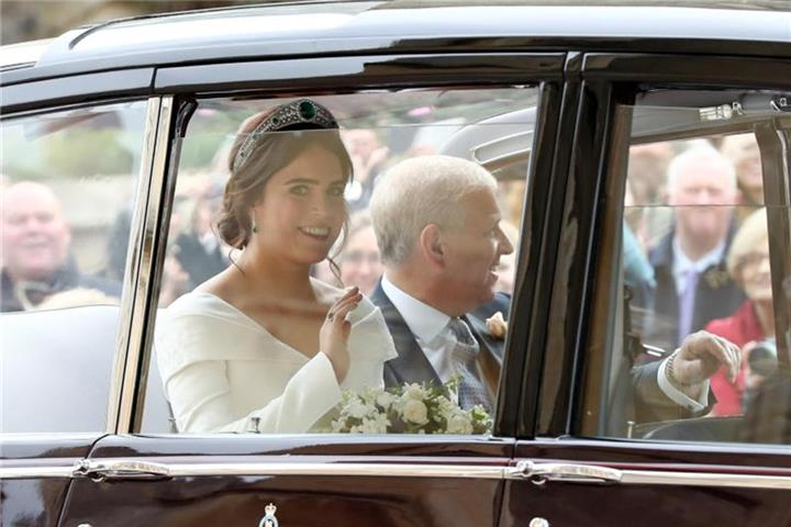 Prinzessin Eugenie heiratet in Windsor