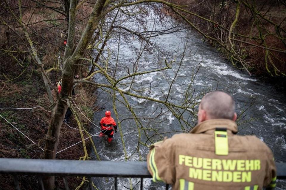 Feuerwehrmann Ertrunken