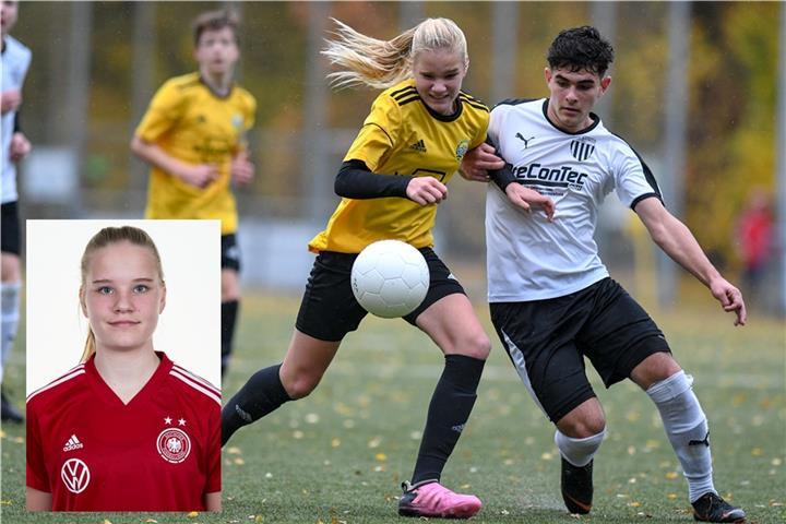 Bocholter Fussballerin Hat Fur Die U15 Nationalmannschaft