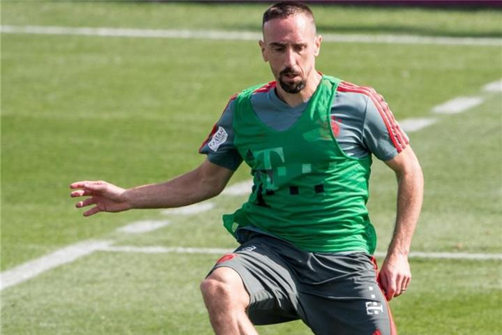 Ribéry absolviert wieder Teile des Teamtrainings