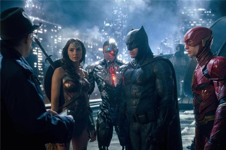 """The Justice League"": Superhelden-Saga"