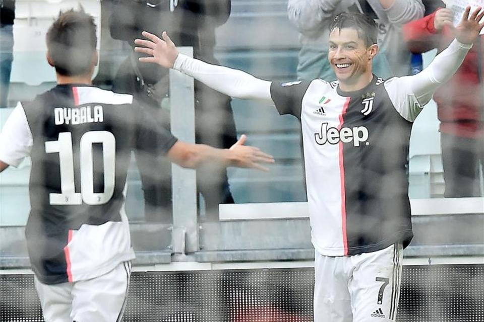 Ronaldo F U00fchrt Juventus Zum Sieg Gegen Udinese Calcio