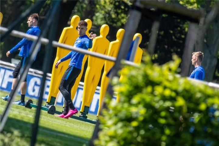 Berliner Senat will Hertha-Training kontrollieren