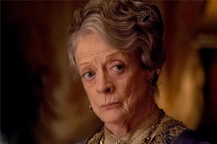 """Downton Abbey"" mit der wunderbaren Maggie Smith"