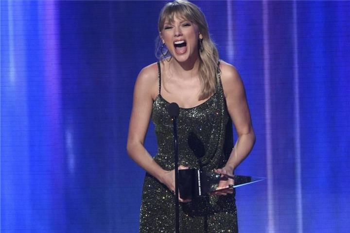 Taylor Swift wird Königin der American Music Awards