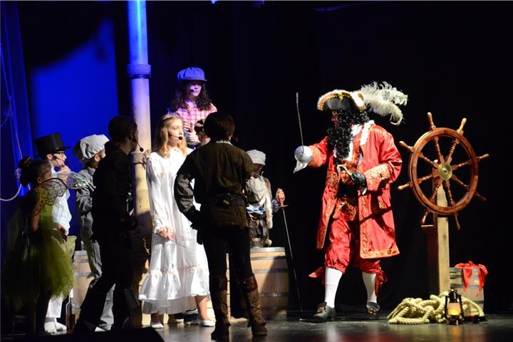Peter Pan hat in Rhede Premiere