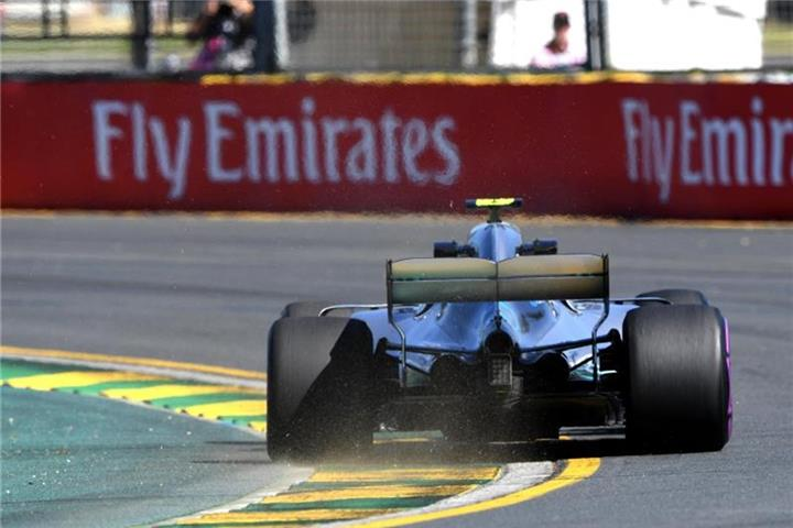 Bottas-Crash bei der Qualifikation in Melbourne
