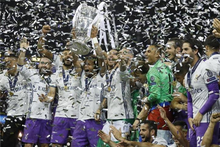 Champions-League-Real Madrid meldet Rekordumsatz