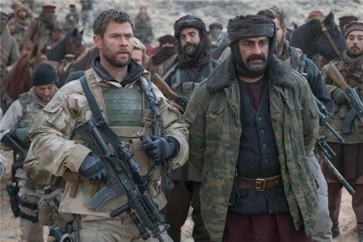 """Operation: 12 Strong"": Chris Hemsworth in Afghanistan"