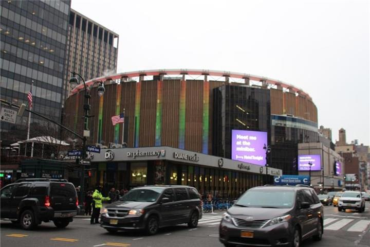 Der New Yorker Madison Square Garden wird 50