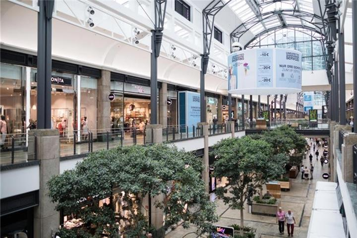 Nordrhein-Westfalen hat die meisten Shopping-Center